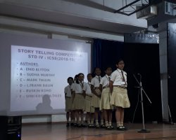 Std IV Story Telling Competition