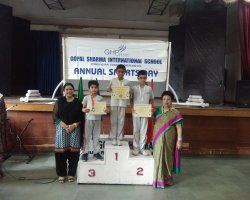 Primary Sports Prize Distribution 2019-2020