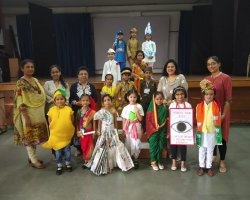 Std 1 Fancy Dress Competition 2019-2020