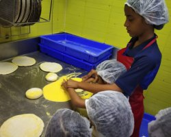 Std I Field Trip - Pizza Factory and Ice Cream Factory