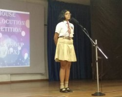 English-Elocution -Std VIII -X 2018 - 2019